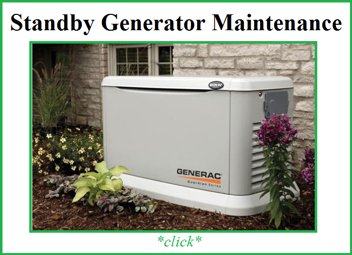 generator standy maintenance pic