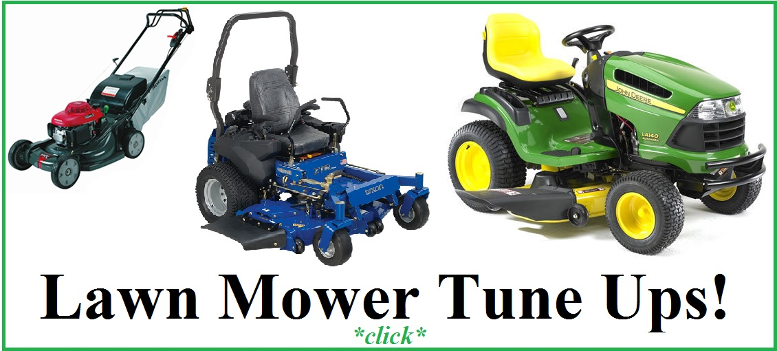 lawn mower tune ups