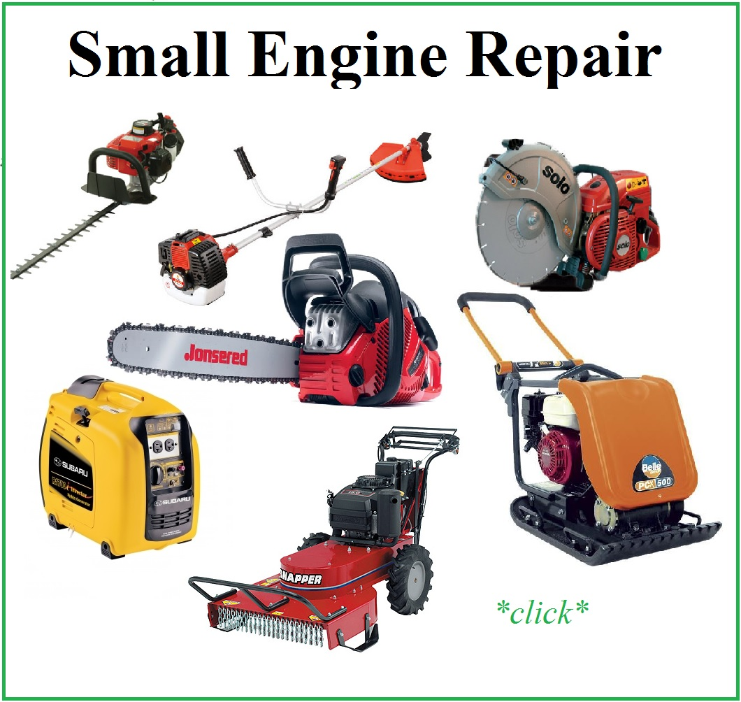 Small Engine Repair : Service equipment rentals in plymouth shaughnessy