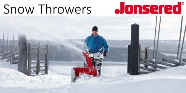 jonsered snow thrower header