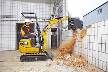Cat 300.9D excavator