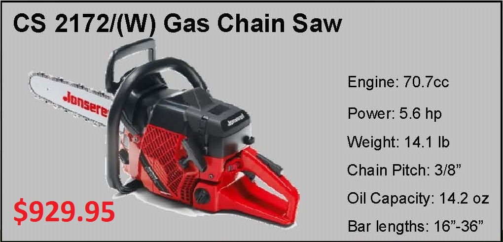 Jonsered Chain Saws Equipment Rentals In Plymouth
