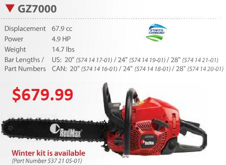 redmax gz7000