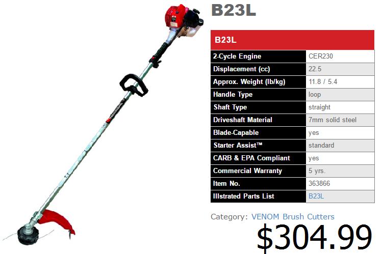 B23L spec