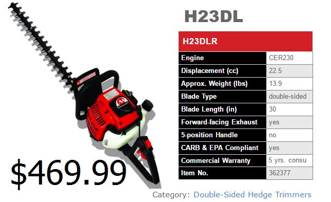 H23DL spec