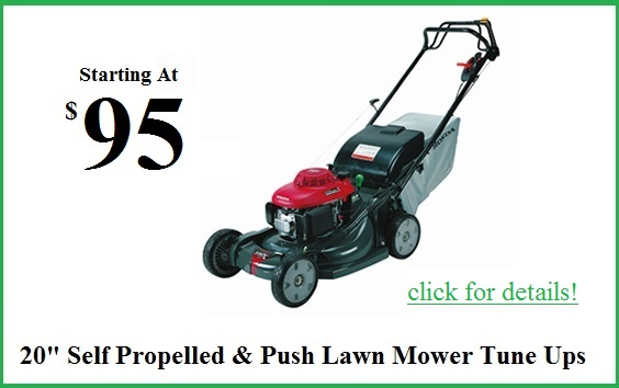20inch mower tune up