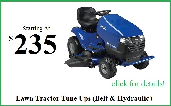 tractor mower tune up