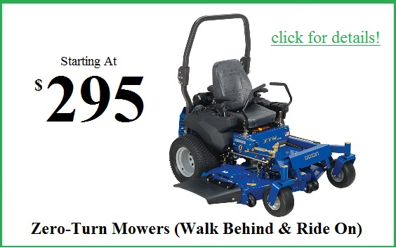 zero turn mower tune up
