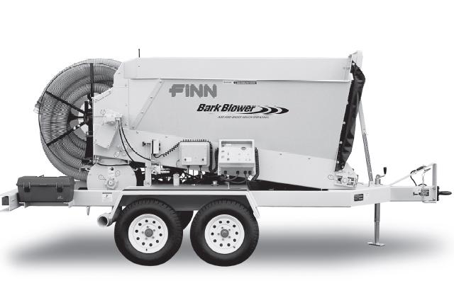 finn bb302 bark blower