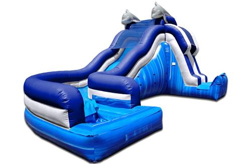 dolphin side load water slide