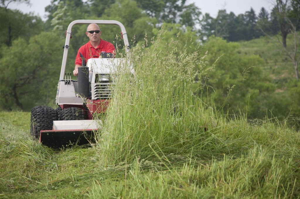 ventrac mower action