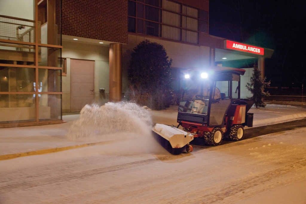 ventrac sweeper snow