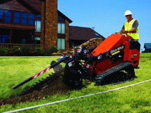 sk755 trencher