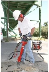 hydraulic jack hammer breaker
